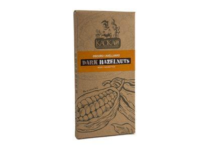 dark chocolate hazelnuts 100