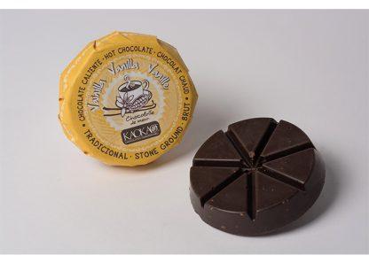 Disco de chocolate con Vainilla 60 gr